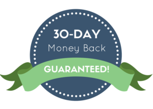 30 Day Money Back Guaranteed!