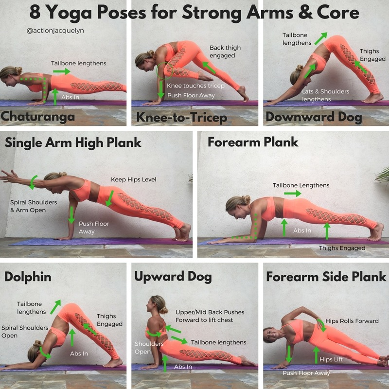 8 Yoga Poses For Strong Arms ABS